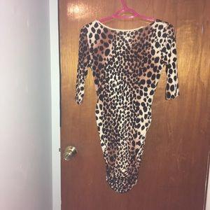 Codigo leopard print very sexy dress